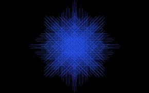 Picture blue, black, outlet