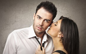 Picture look, girl, passion, pair, male, lovers