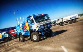 Picture Auto, Sport, Machine, Truck, Master, Russia, New, 2018, Kamaz, Rally, Dakar, KAMAZ-master, Dakar, Rally, KAMAZ, …