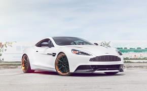 Picture Aston Martin, V12, Vanquish, Wheels, Strasse