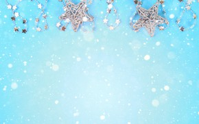 Picture decoration, background, New Year, Christmas, Christmas, blue, New Year, decoration, Merry