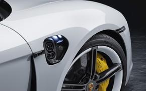 Picture wheel, Porsche, Turbo S, 2020, Taycan