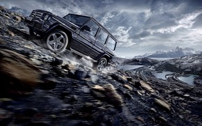 Picture G-Class, Mercedes G, Off Road, 2016, Mercedes 2016, 2016 Mercedes-Benz G-Class Wallpaper, 2016 Mercedes-Benz G-Class
