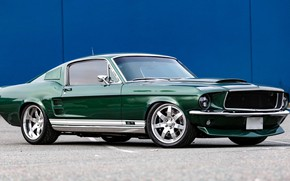 Picture Ford Mustang, Coupe, Fastback, Muscle car, Custom, Vehicle, Pony Car