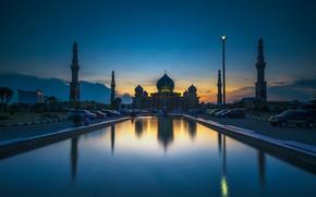 Picture Indonesia, mosque, Pekanbaru