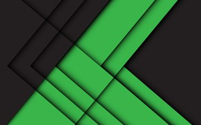 Picture line, green, background, black, background