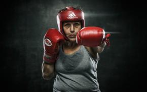 Picture sport, Boxing, veteran, grandma