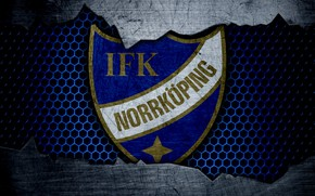 Picture wallpaper, sport, logo, football, Norrkoping
