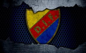 Picture wallpaper, sport, logo, football, Djurgarden