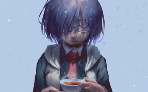 Picture girl, Cup, Mash Kyrielight, Fate / Grand Order