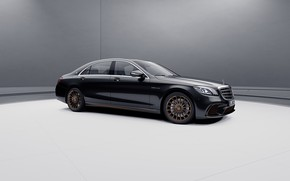 Picture machine, lights, Mercedes-Benz, V12, S65, Mercedes-AMG, Executive class, Final edition
