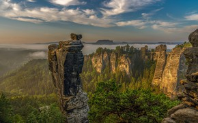 Picture mountains, Germany, Saxon Switzerland