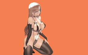 Picture girl, sexy, ass, Boobs, Anime, breasts, lingerine