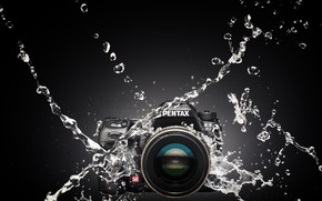 Picture water, squirt, the camera, Pentax K-5IIs
