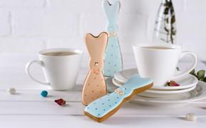 Picture hare, cookies, figures
