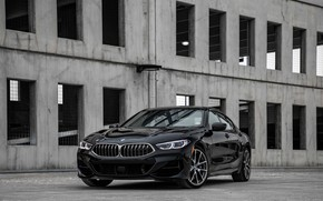 Picture black, coupe, BMW, structure, Gran Coupe, 2020, 8-Series, 2019, the four-door coupe, M850i xDrive, Eight, …