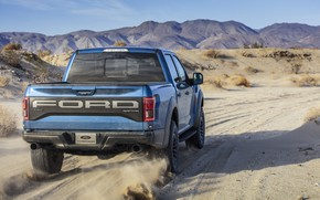 Picture Ford, Dust, Raptor, F-150, 2019, Ford F-150 Raptor