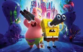 Picture Spongebob, Patrick, Sponge Bob square pants, The SpongeBob Movie: Sponge on the Run, Spongebob on …