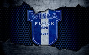 Picture wallpaper, sport, logo, football, Wisla Plock
