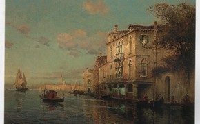 Picture ALDINE, SAN MARCO IN, A VENITIAN SCENE WITH, THE DISTANCE