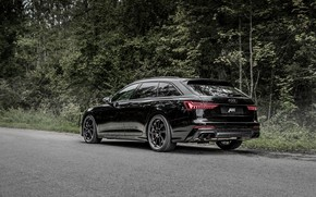 Picture Audi, TDI, rear view, ABBOT, universal, Before, 2019, Audi S6