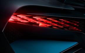 Picture headlight, Bugatti, supercar, 2018, hypercar, Divo