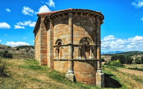 Picture Spain, chapel, Palencia, Santa Eulalia
