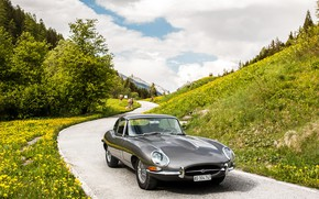 Picture Jaguar, E-Type, Coupe, Sport