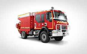 Picture 4x4, fire & rescue, fire truck, Renault Trucks, d14