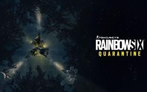 Picture Ubisoft, shooter, videogame, Tom Clancy's Rainbow Six Quarantine