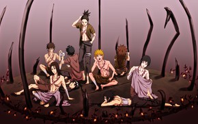 Picture art, guys, Naruto, naruto, characters