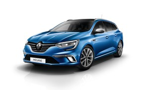 Picture white background, Renault, Megane, Estate, GT Line, Worldwide