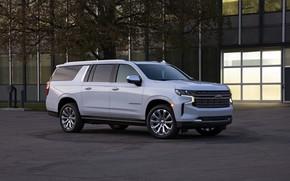Picture Chevrolet, side, SUV, Suburban, 2020