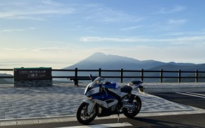 Picture bmw, sky, s1000rr