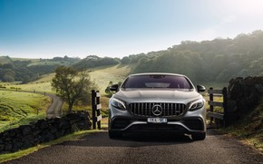 Picture Mercedes-Benz, AMG, Coupe, 2018, 4MATIC, S63