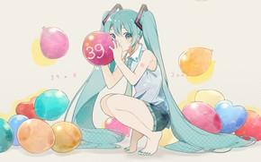 Picture balls, Hatsune Miku, Vocaloid