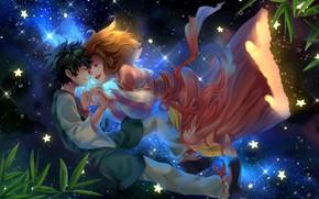 Picture romance, My Hero Academia, Boku No Hero Academy, Midori Isuku, My Hero Academy, Uraraka, Ochako