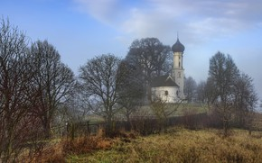 Picture Germany, Bavaria, Chapel, Sankt Sebastian