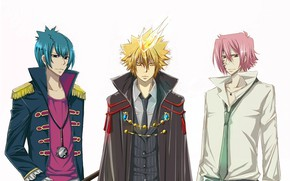 Picture background, flame, anime, art, guys, Katekyo Hitman Reborn, Teacher mafia Reborn