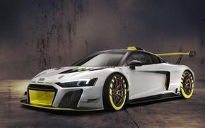 Picture Audi, sports car, Audi R8, drives, GT2, LMS