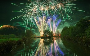 Picture England, Lancashire, Bonfire night, The night of the fireworks, Guy Fawkes Night
