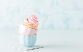 Picture Cup, cake, cream, dessert, cupcake, cupcake