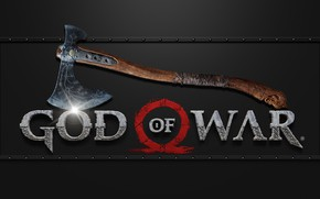 Picture axe, logo, game, god of war, weapon, kratos, wood, blade, god, leviathan, gow, leviathan axe