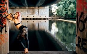 Picture girl, pose, Lilie Gorchkov