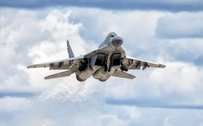 Picture weapons, the plane, MiG-29SMT