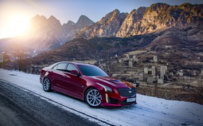 Picture cadillac, cts, ingushetia