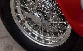 Picture Wheel, Spokes, Ferrari, Classic, 1950, Classic car, Barchetta, Sports car, Bus, Ferrari 166 MM Barchetta, …