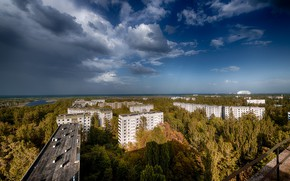 Picture Pripyat, Ukraine, The Chernobyl exclusion zone