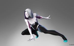 Picture marvel, Spider-Woman, gwen stacy, Spider-Gwen, the black order, marvel ultimate alliance 3