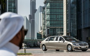 Picture City, Dubai, Pullman, Luxury, Vehicle, S600, Mercedes-Maybach